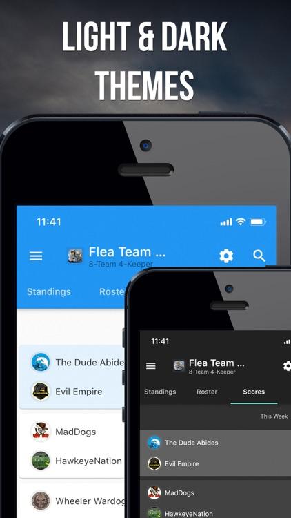Fleaflicker Fantasy Sports screenshot-5