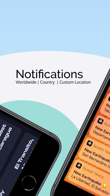 Earthquake & Temblores | Alert screenshot-3