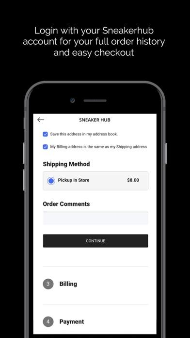 Sneaker Hub Shop Screenshot