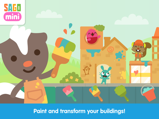 Sago Mini Neighborhood Blocks screenshot 9