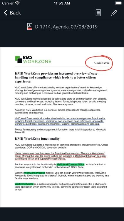 KMD WorkZone for Intune screenshot-3