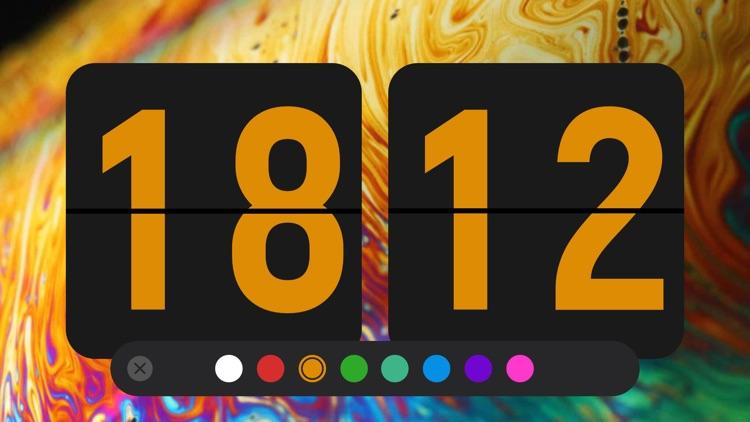 Nightstand clock & Flip clock screenshot-6
