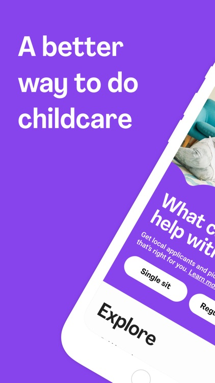 Bubble - Find Childcare Now screenshot-0