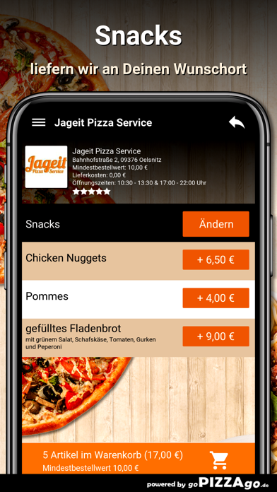 Jageit Pizza Service Oelsnitz screenshot 6