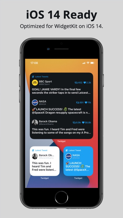 Twidget - Widget for Twitter screenshot-5