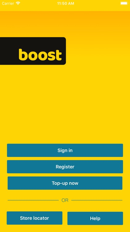 Boost Top-up