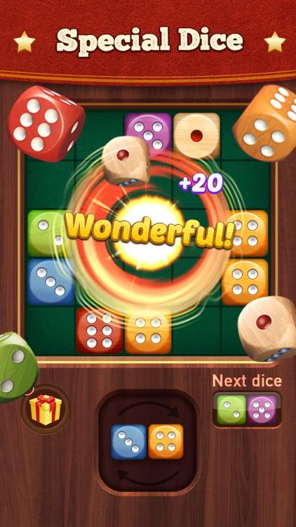 Woody Dice Merge Puzzle screenshot-3