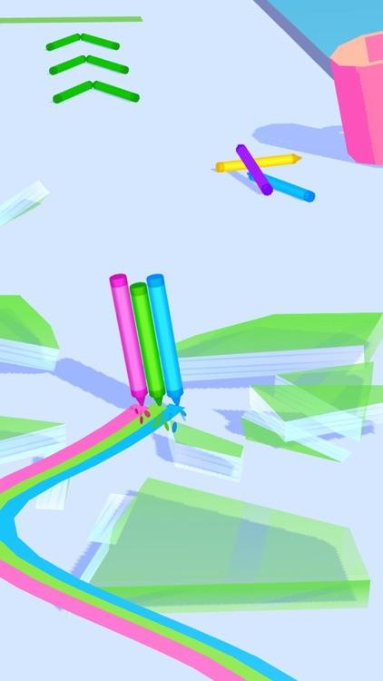Pencil Rush 3D screenshot-4