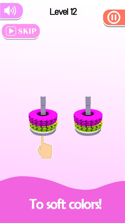 Stack Sort - Color Hoop screenshot-5