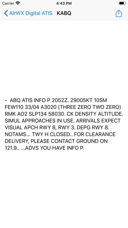 AirWX DATIS