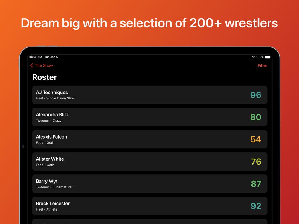 Pro Wrestling Simulator 2021 App for iPhone - Free ...