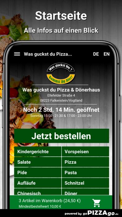 Was guckst du Pizza screenshot 2