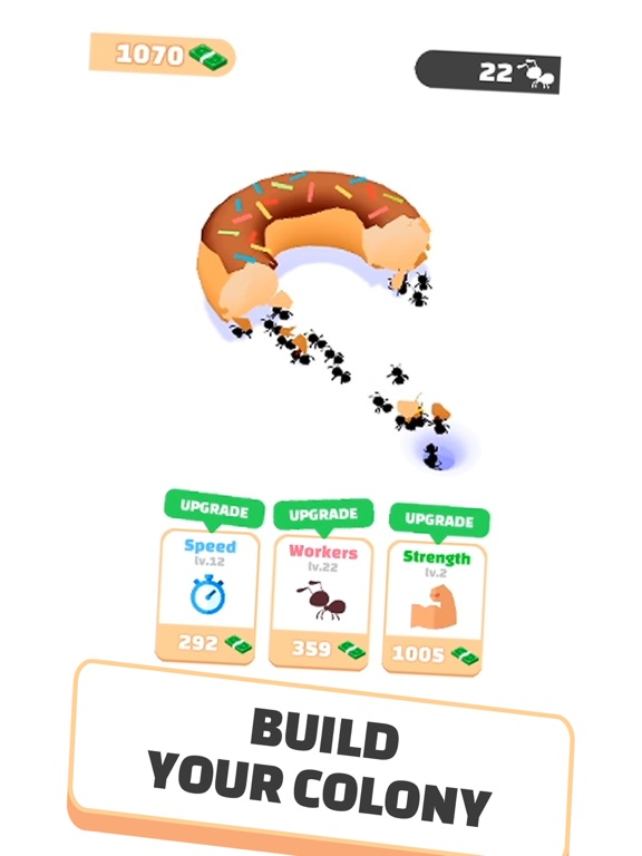 iPad Image of Idle Ants - Simulator Game