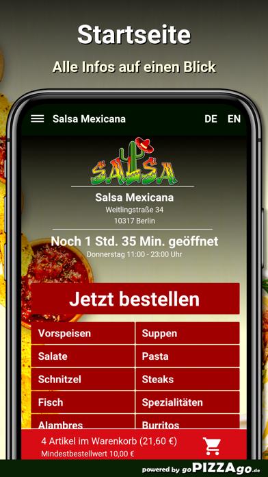 Salsa Mexicana Berlin screenshot 2