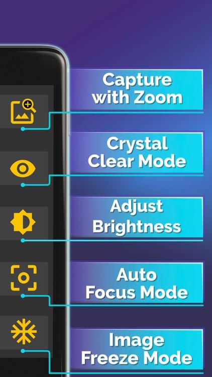 Magnifying Glass + Flashlight screenshot-4