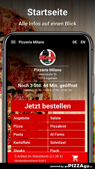 Pizzeria Milano Ingelheim screenshot 2