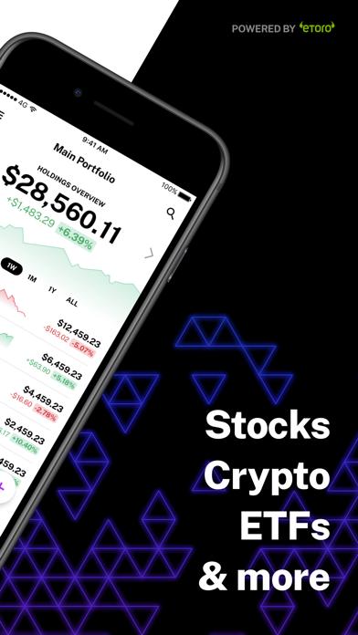 Delta Investment Tracker Screenshot