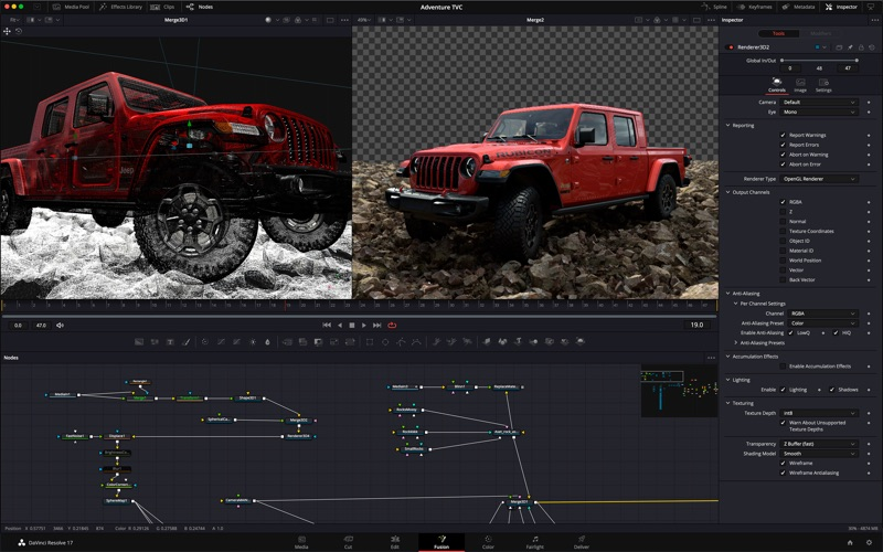 DaVinci Resolve Studio Screenshots