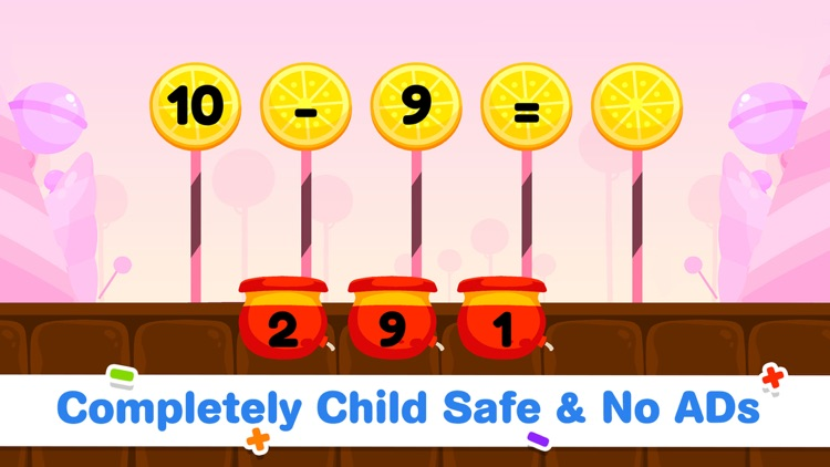 Addition Subtraction for Kids! screenshot-8