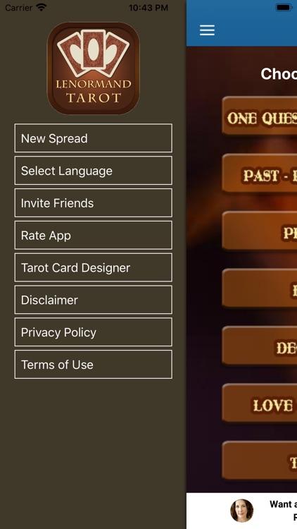 Lenormand Tarot App screenshot-9