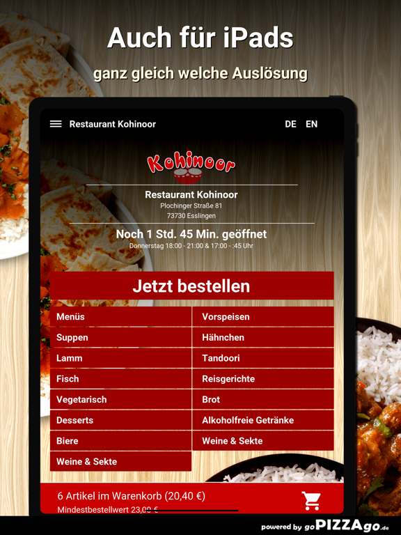 Restaurant Kohinoor Esslingen screenshot 7