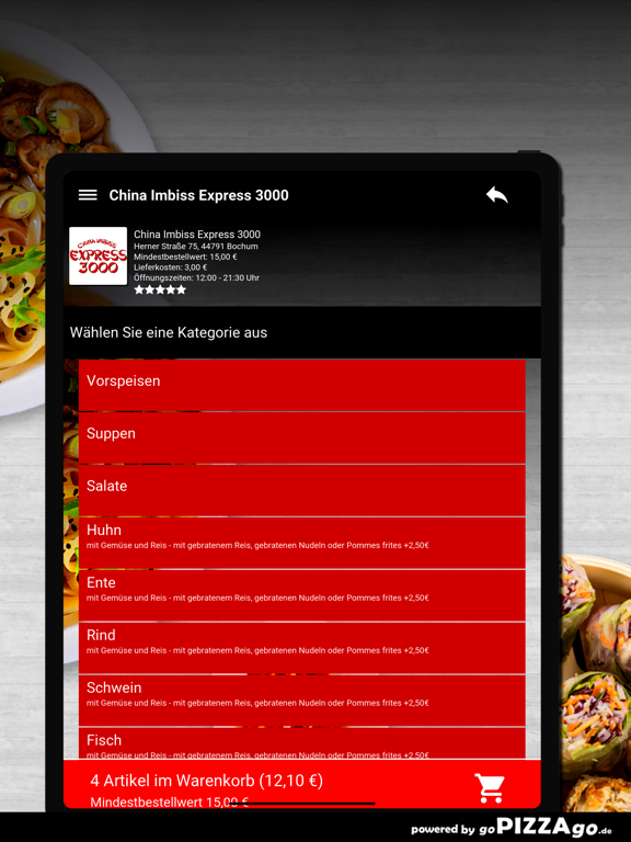 China Express 3000 Bochum screenshot 8