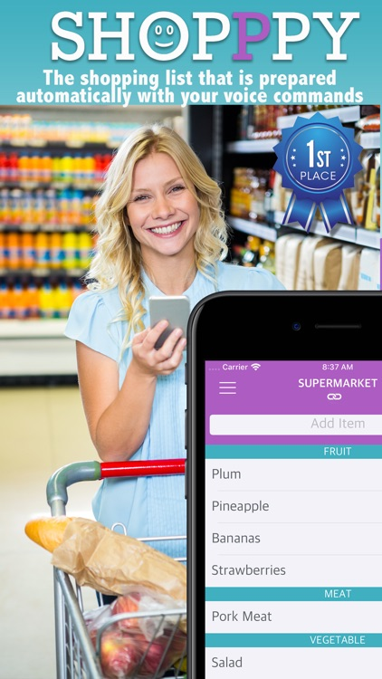 SHOPPPY  Grocery List by Voice