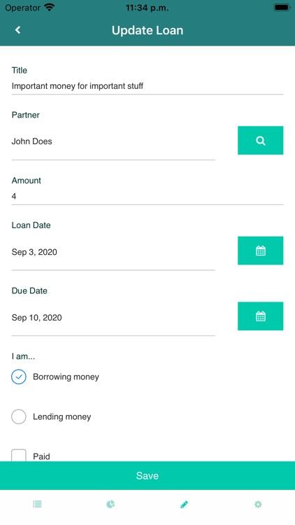 Loans Manager screenshot-4