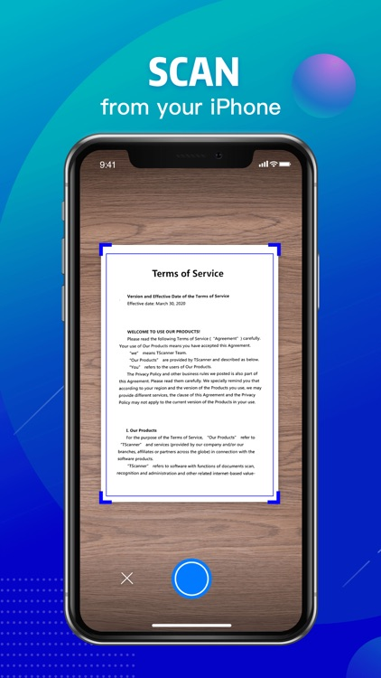 TScanner - Scan and Share Docs