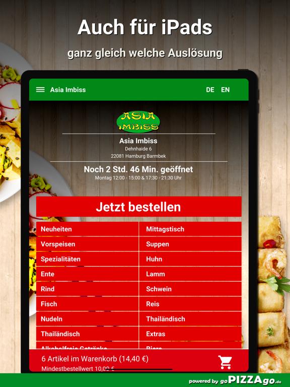 Asia Imbiss Hamburg Barmbek screenshot 7