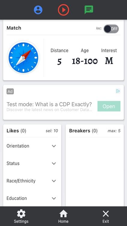 Blind - Match. Flirt. Date. screenshot-3