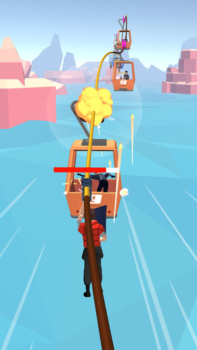 Zip Line Chaser screenshot 1