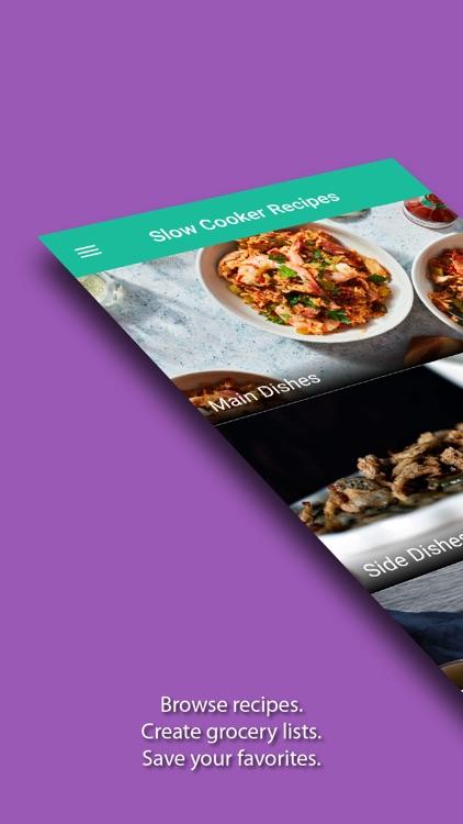 Slow Cooker Recipes & Meals