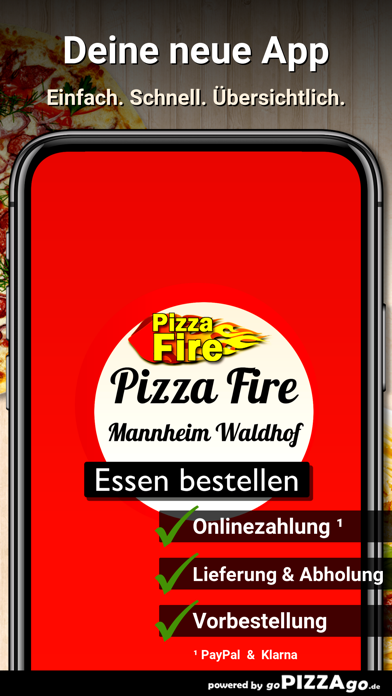 Pizza Fire Mannheim Waldhof screenshot 2
