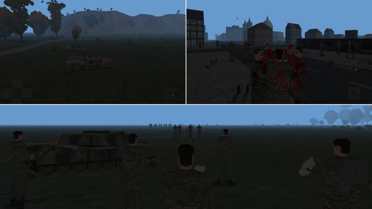 Zombie Battle 3D screenshot-3