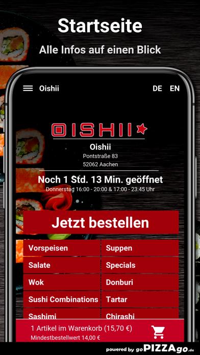 Oishii Aachen screenshot 2