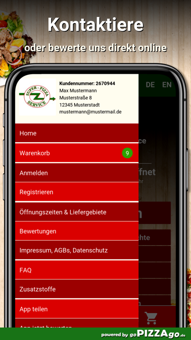 Super Pizza Schwaigern screenshot 3
