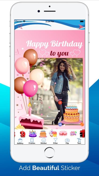 Birthday Photo Frame - Editors