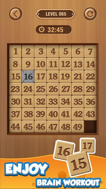 Number Puzzle: Wood Block 3D screenshot-4