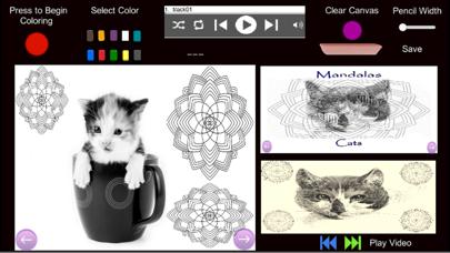 Mandalas - Cats screenshot 1