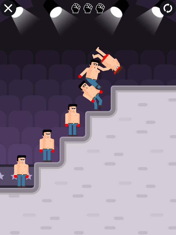 Mr Fight - Wrestling Puzzles screenshot 6