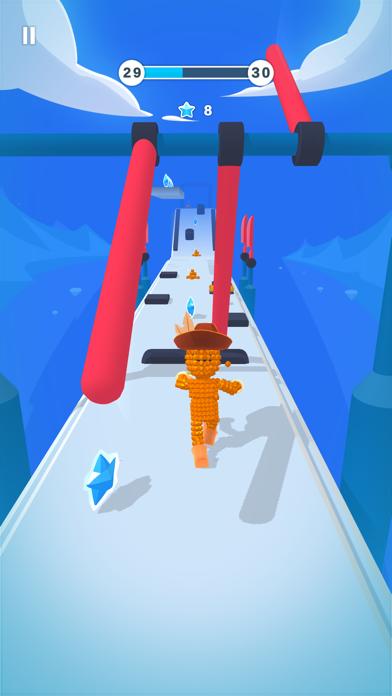 Pixel Rush - Survival Run screenshot 1