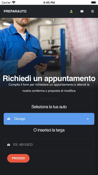 Preparauto Screenshot