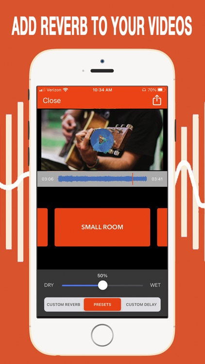 VideoVerb Pro: Reverb to Video screenshot-0