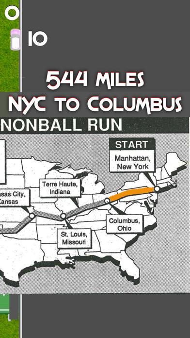 Cannonball Run 2d Screenshot