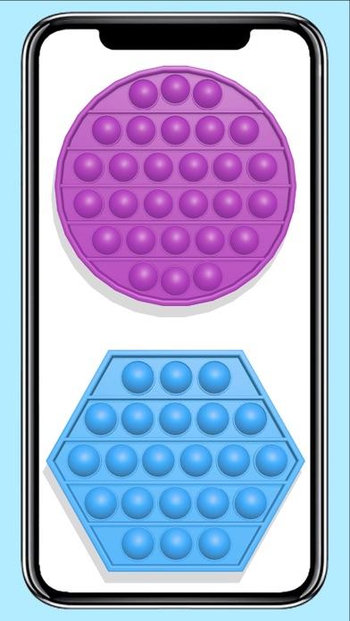 Pop it fidget toy calming Gameのおすすめ画像1