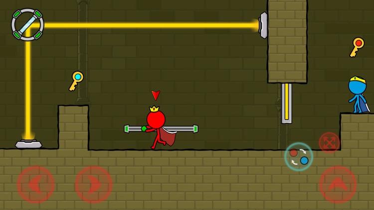 Red & Blue Stickman screenshot-4
