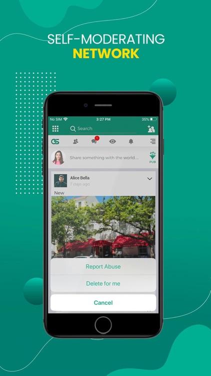 ConnectSocial: Secure Network screenshot-5