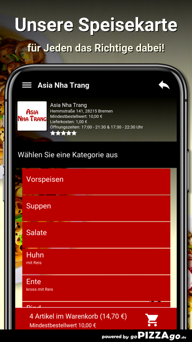 Asia Nha Trang Bremen screenshot 1