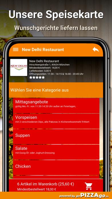 New Delhi Restaurant München screenshot 4